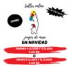 JUEGOS DE MESA EN NAVIDAD (COMBO) - DE 2 A 5 AÑOS Y A PARTIR DE 6